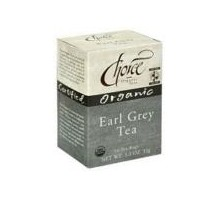 Tés orgánicos opción Earl Grey té (6 x 16 bolso)