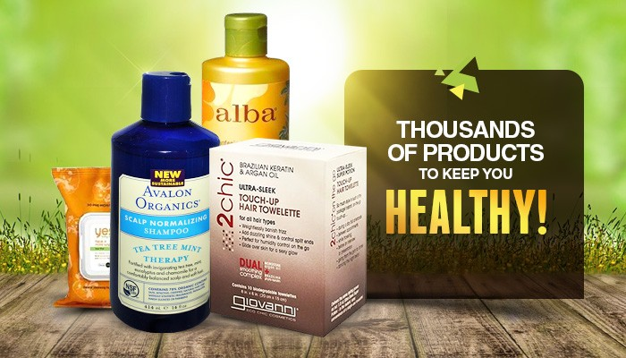 Thousands of Products to Keep You Healthy
